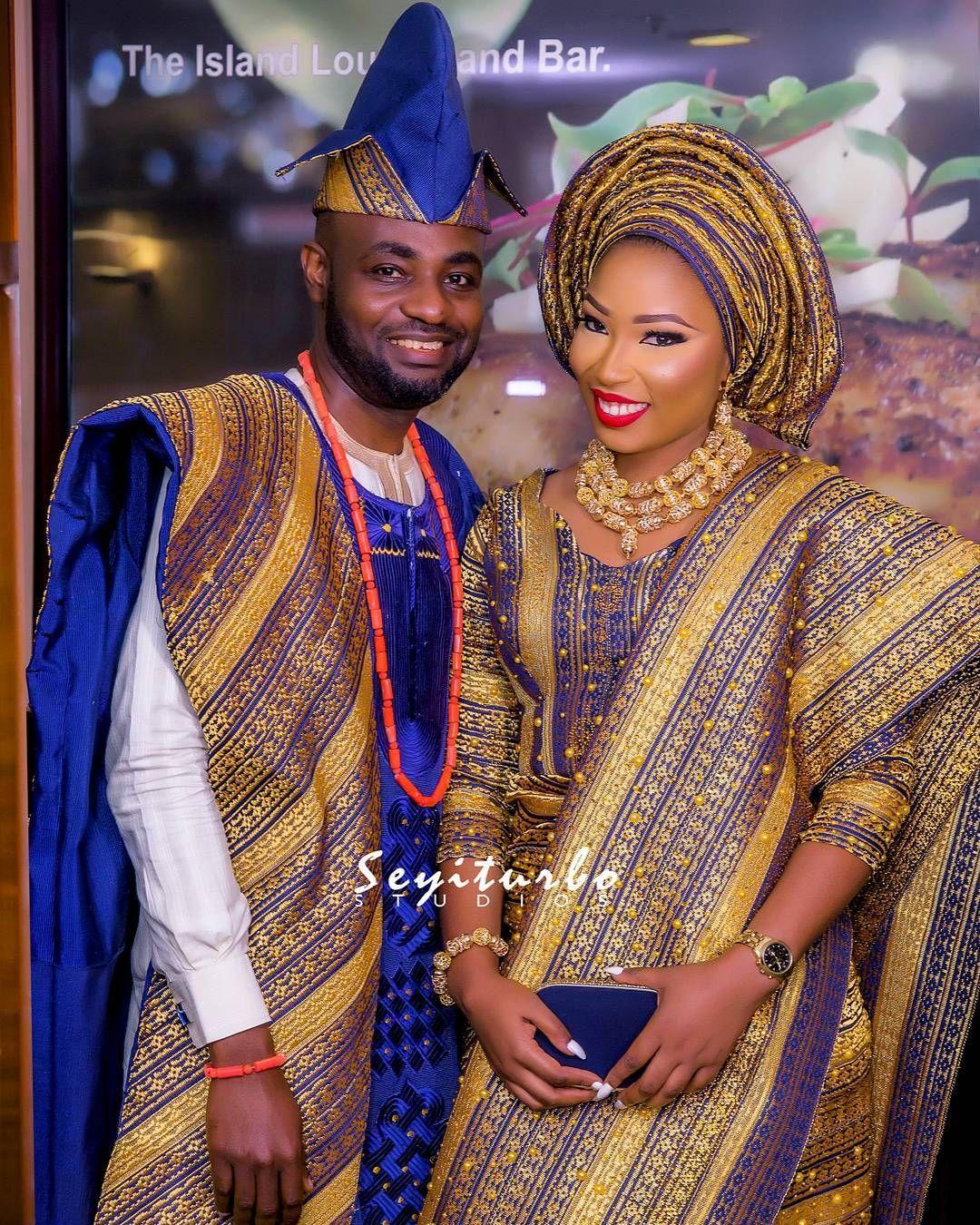 Aso Oke Is The Most Prevalent Yoruba Traditional Attire