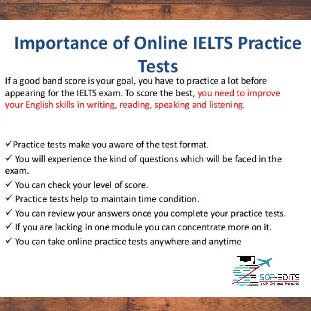 Importance of Online IELTS practice tests  know more about IELTS