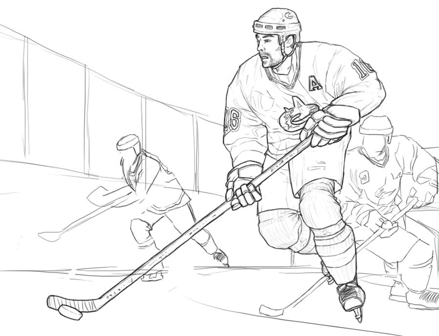 Vancouver Canucks Hockey WIP by Taytonclait on deviantART | Fall ...