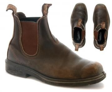 Blundstone Boots The Chisel Toe In Brown Clothing