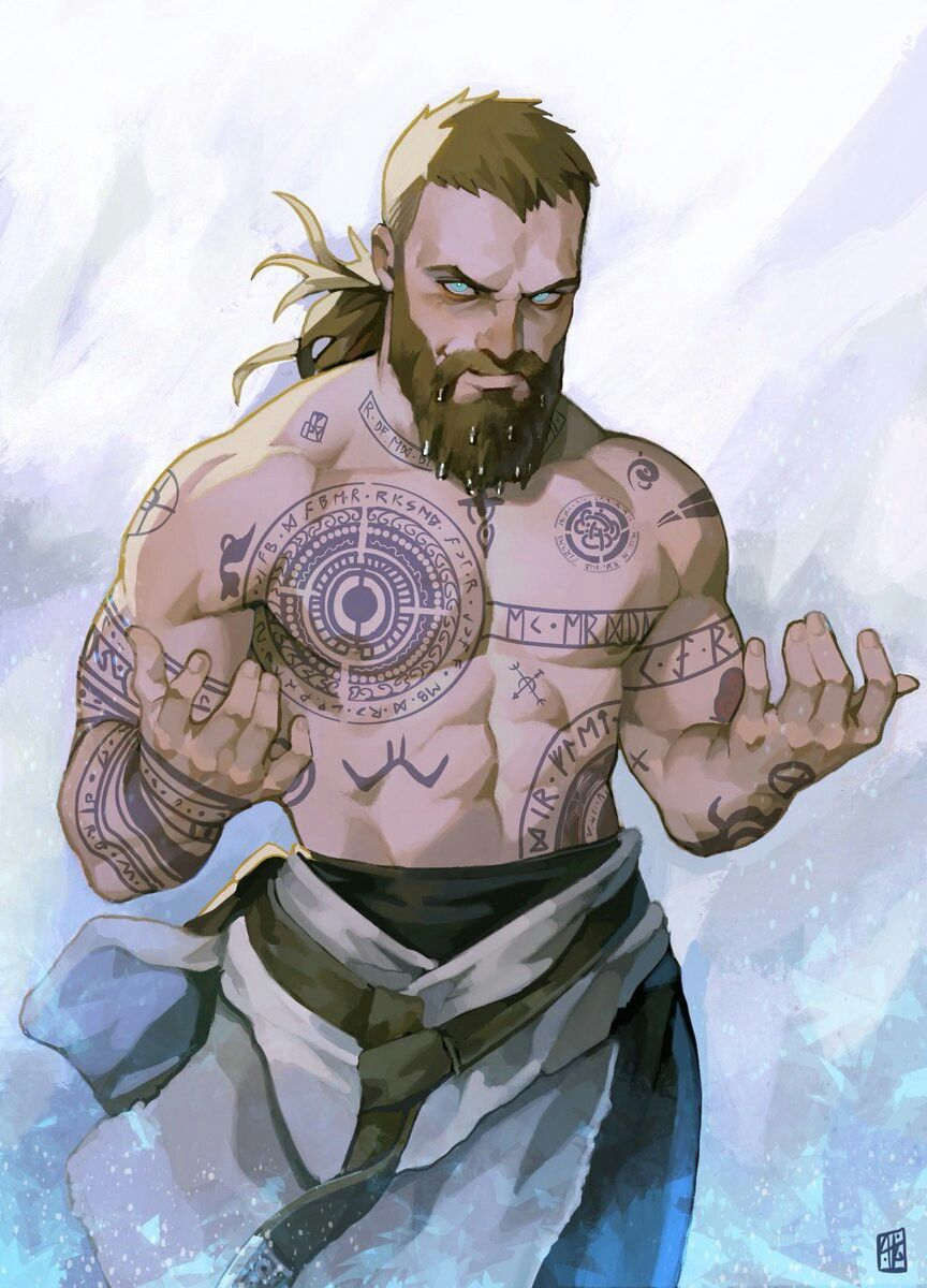 Baldur God Of War Fanart Por Absolum God Of War Pinterest