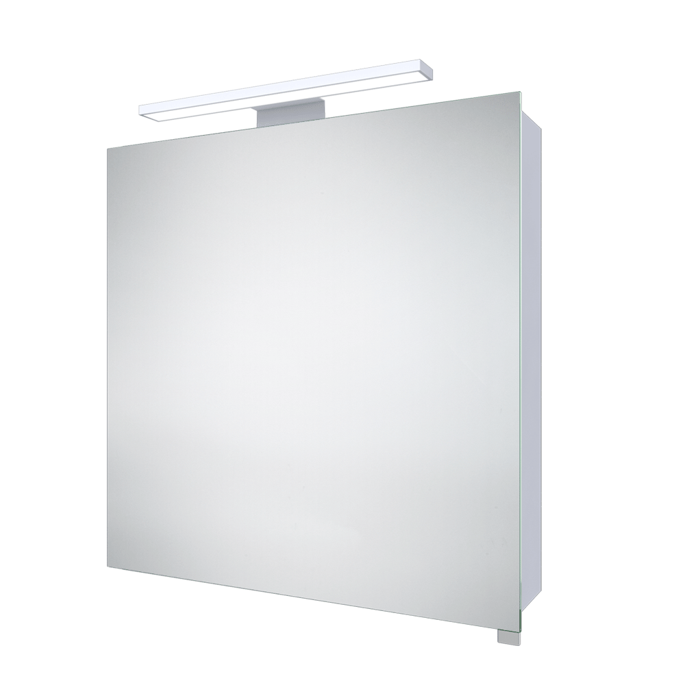 OpenSpace 305 tall storage unit - white gloss | Mirror cabinets ...