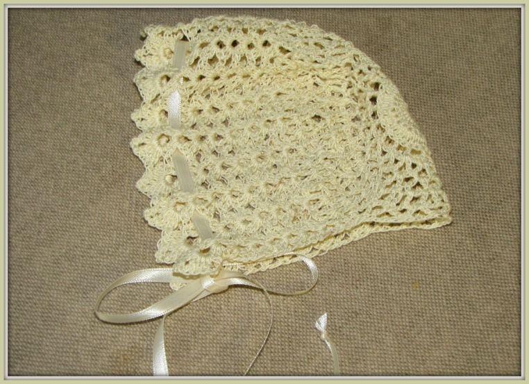 Begginers Crochet Baby Bonnet Patterns | Free Download Crochet Baby ...