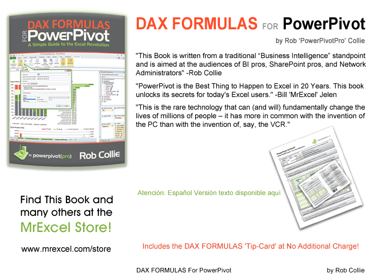 DAX FORMULAS for Power Pivot: A Simple Guide to the Excel