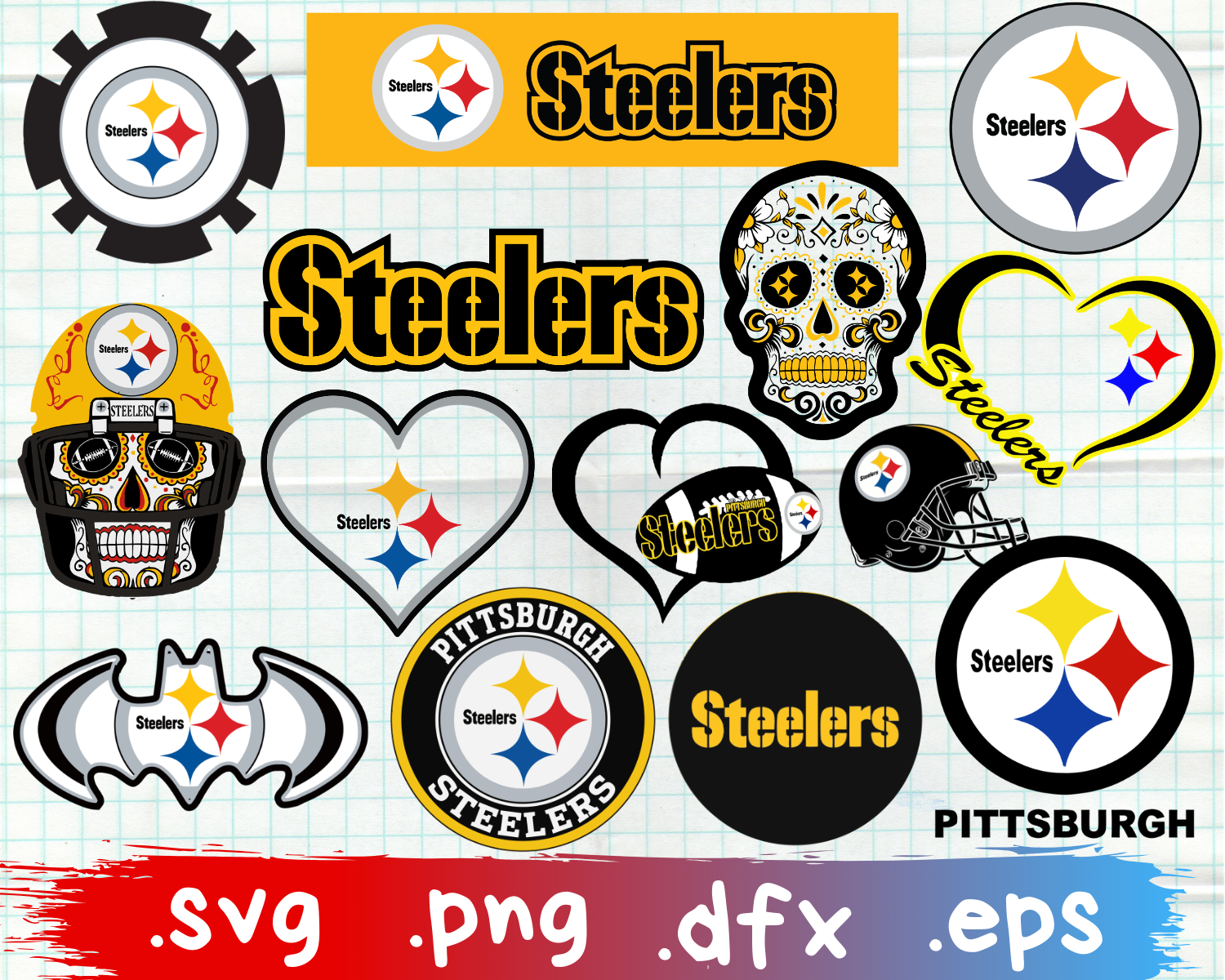 Pittsburgh Steelers, Pittsburgh Steelers svg