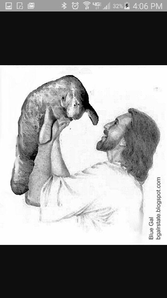 Jesus and Manatee