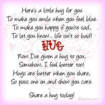Pin By Candy Kubira On Quotes Hug Quotes Friendship Quotes Happy Quotes