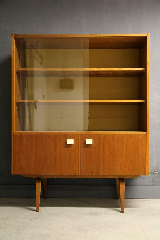 Veb Deutsche Werkstatten Hellerau Bookcase By Franz Ehrlich In 1964 65 Model 427 D Mobelideen Bucherschrank Schrank