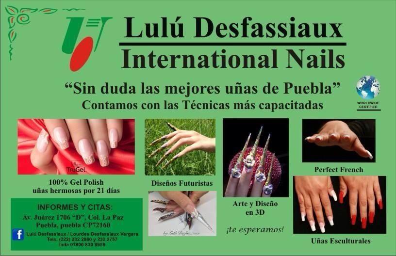 te esperamos en nuestro nuevo vip salon lul desfassiaux nails para arreglarte las uas como