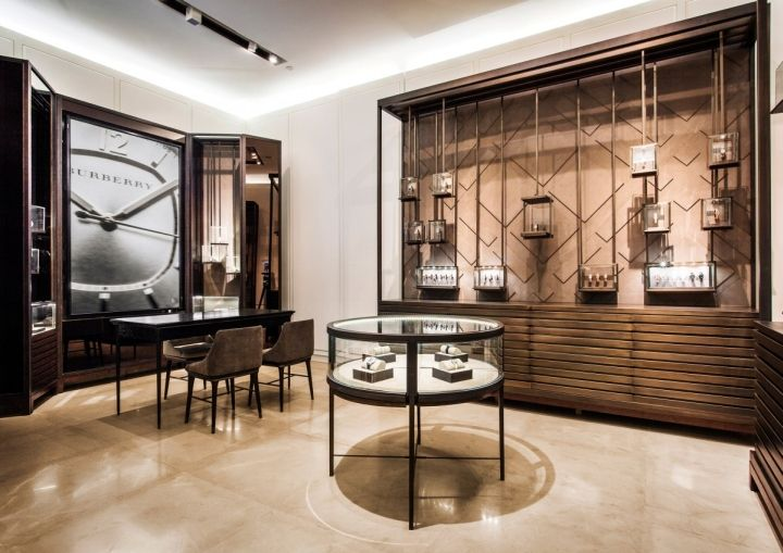 Great Interior Design Burberry Flagship Store Shanghai China