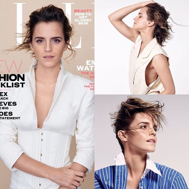 NEW: The first photo of Emma photoshoot for ELLE UK (March 2017)! Photographer: Kerry Hallihan. Source [vk.com/emmawatsonlove]
