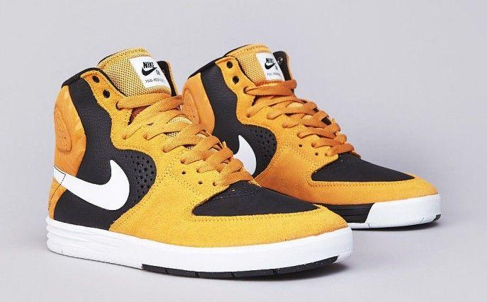 """best sneakers 93893 8b482 Nike SB Paul Rodriguez 7 High – """"Laser OrangeWhiteBlack"""""""