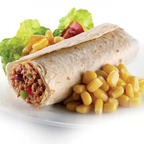 Burrito Mexicano De Carne Comida Comida Mexicana Comida Etnica