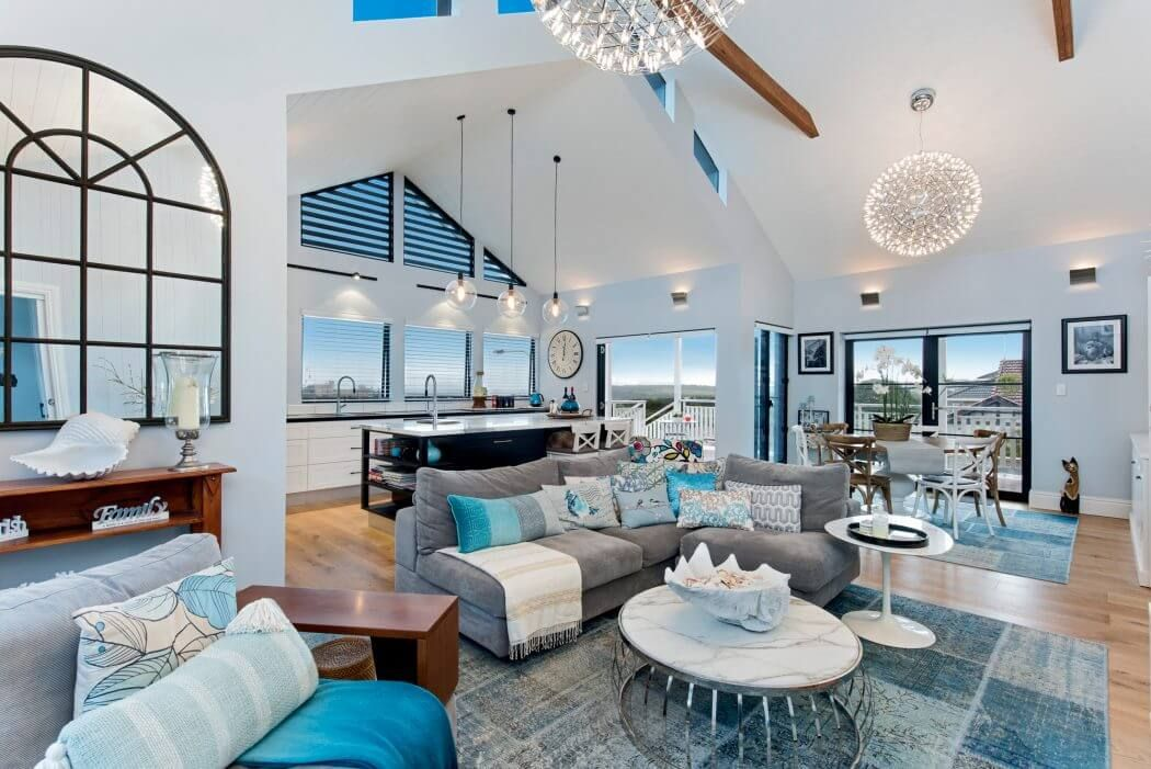 Une pièce à vivre luxueuse. #décoration #luxe #inspiration #salon ...