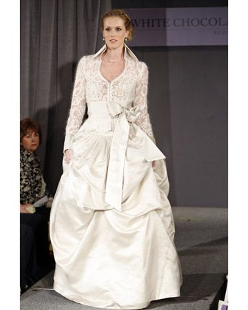 White Chocolate Wedding Dress By Scott Corridan Spring 2009 Bridal Collection Saw It