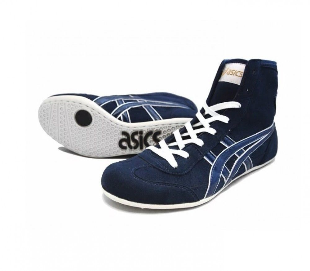 4f74aa28970 Asics Wrestling Shoes EX-EO TWR900 Navy Ship from Japan ASICS New Shoes  TWR900 !
