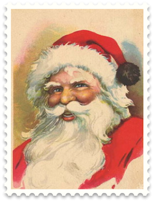Old Time Santa Claus Painting | Wednesday, December 16, 2009