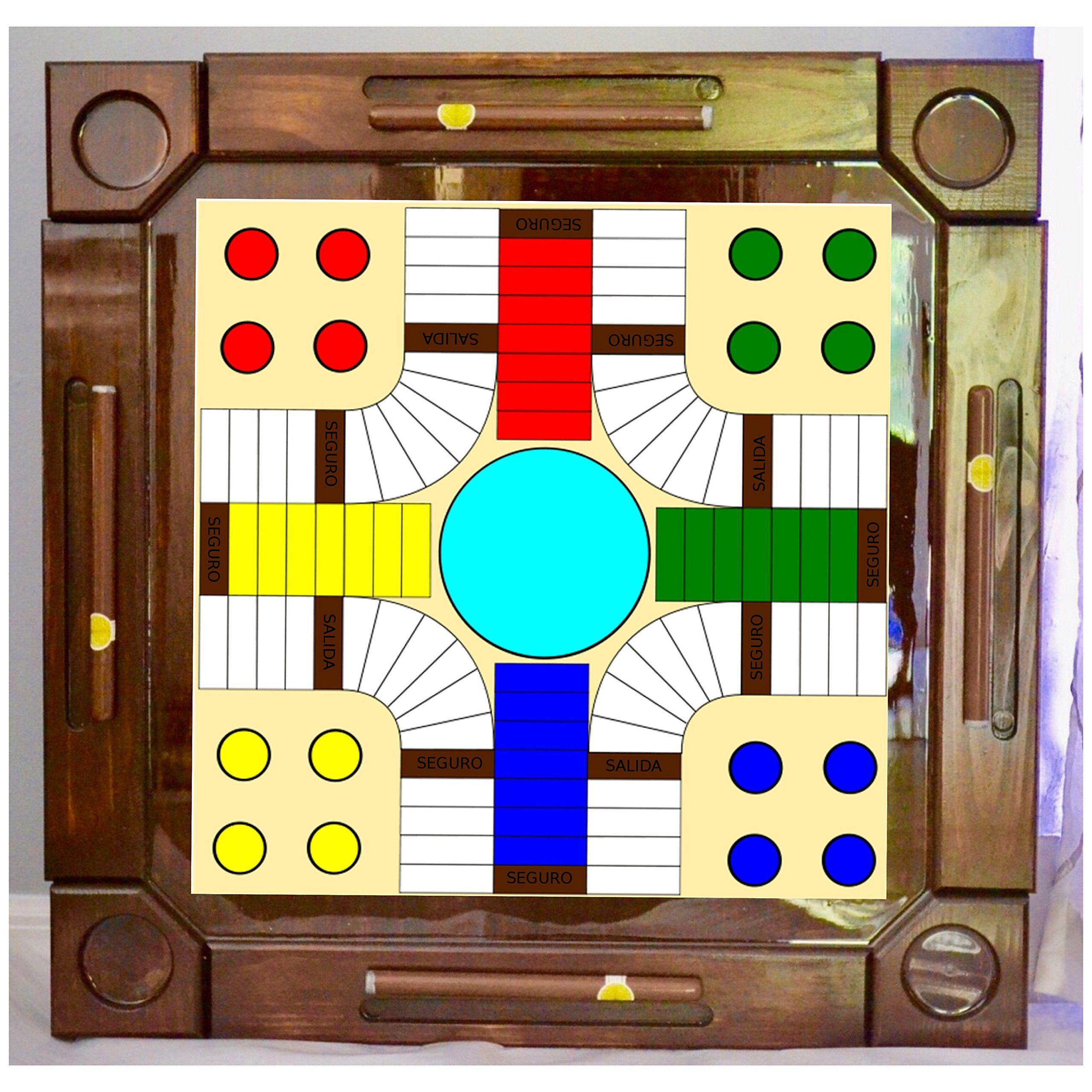 Wooden/wood Dominoes/domino Table/mesa Custom Made Parcheesi Made