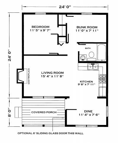 Lakeview Cabin Plan House Plans Tiny House Floor Plans Cabin Plans