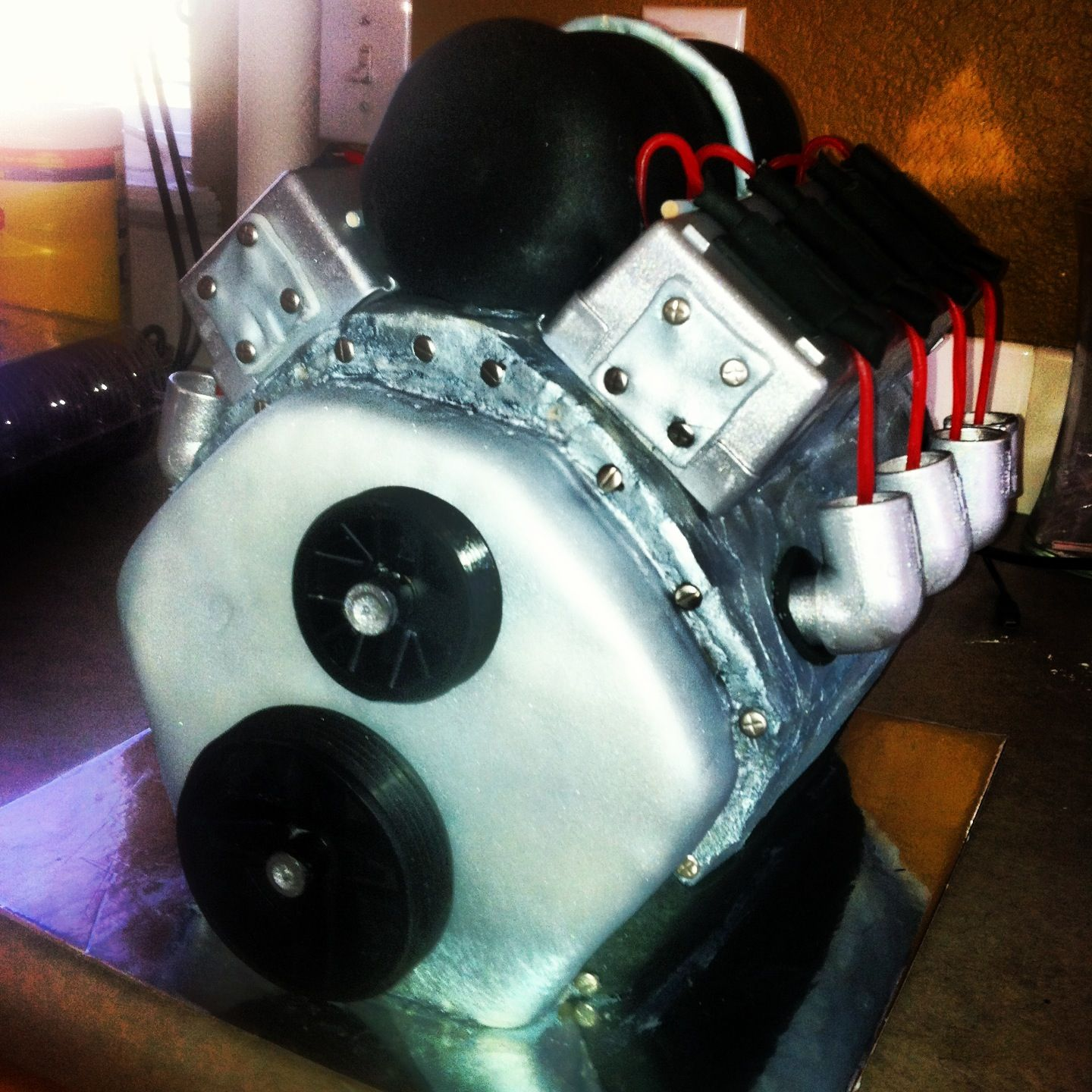 Motor cake engine cake My own cakes Pinterest Motor cake