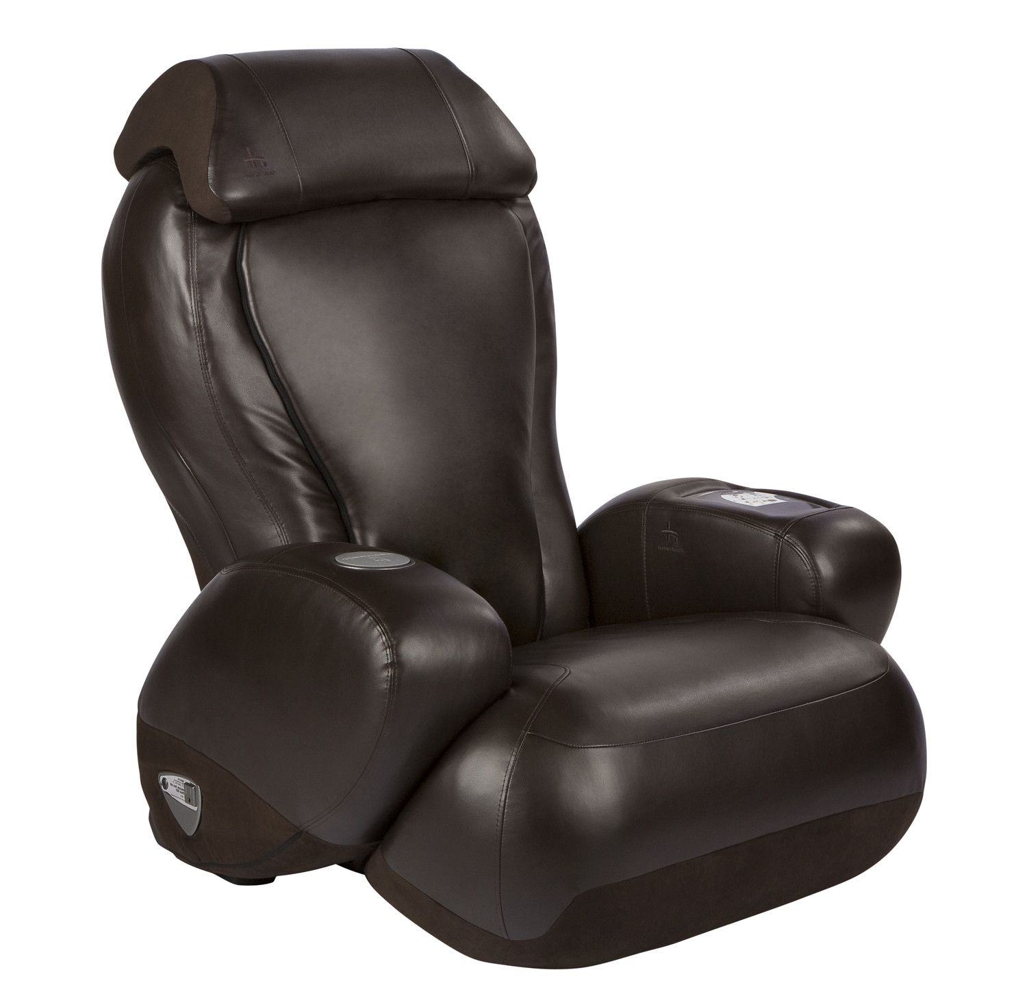 Leather Heated Massage Chair with Ottoman Massage chair