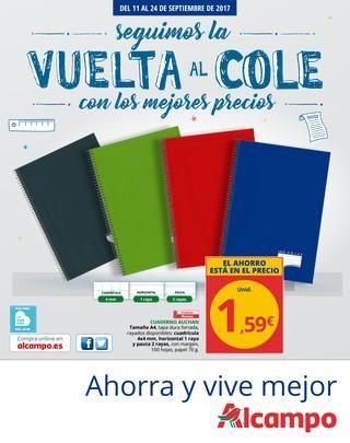 Catalogo Alcampo Vuelta Al Cole Del 11 Al 24 De Septiembre Lidl