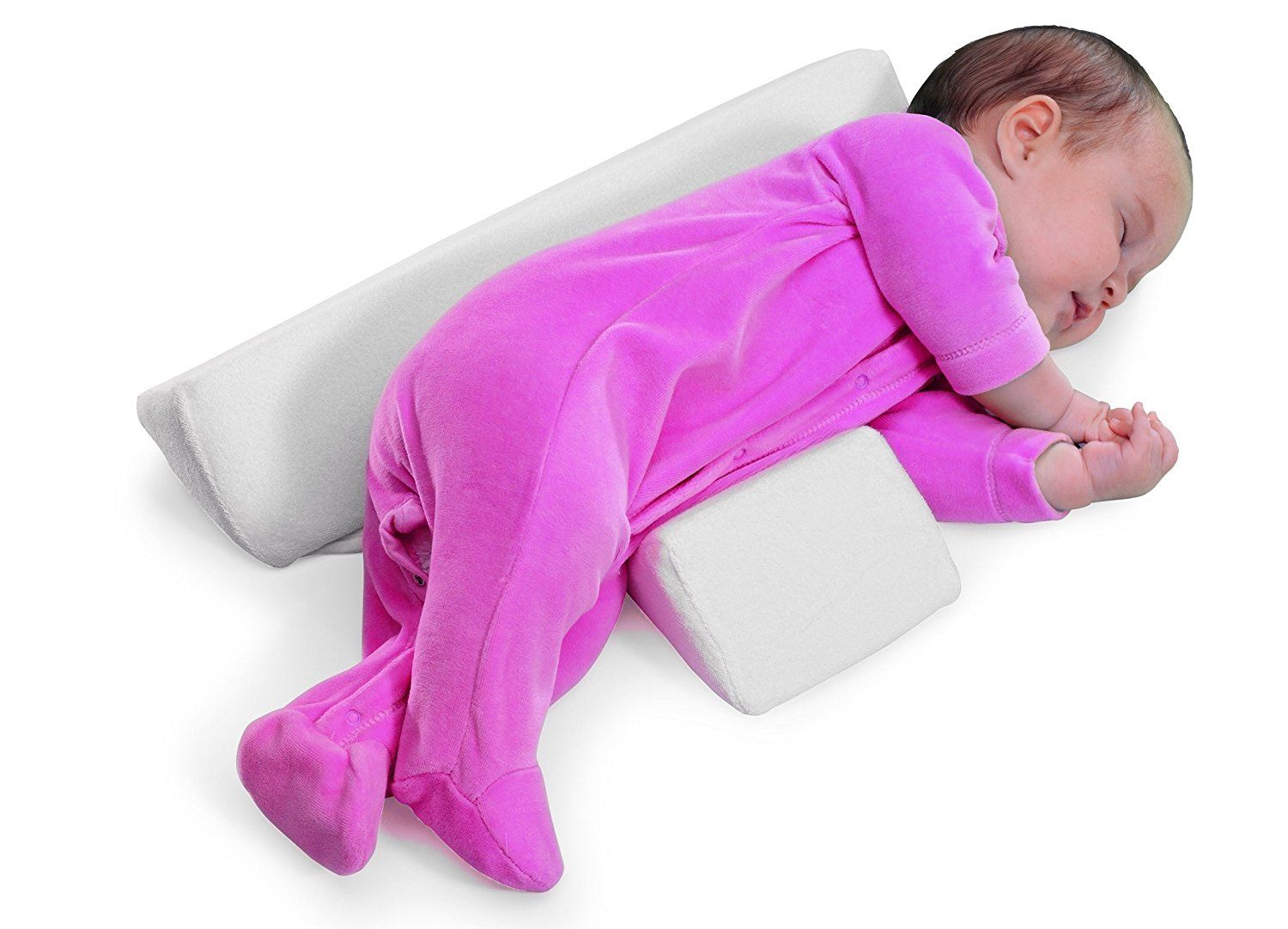 Baby Sleep Pillow Safe Baby bed Washable Wedge Adjustable Anti-roll For Newborn