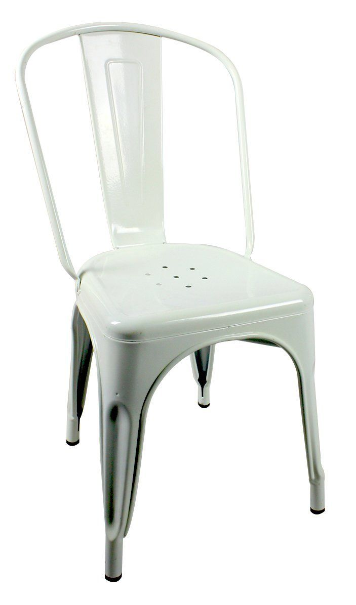 Marais French Style Café Dining Chair in White