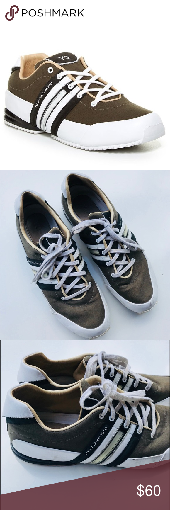 b53bd6f933193 Spotted while shopping on Poshmark  Y-3 Yohji Yamamoto Sprint Classic  Sneakers!  poshmark  fashion  shopping  style  Y-3  Other