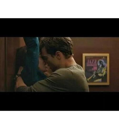 """fiftyshadesjournal: """"kyal89: """"""""What is it about elevators?"""" """" when he says … elevators …his voice *_* """""""
