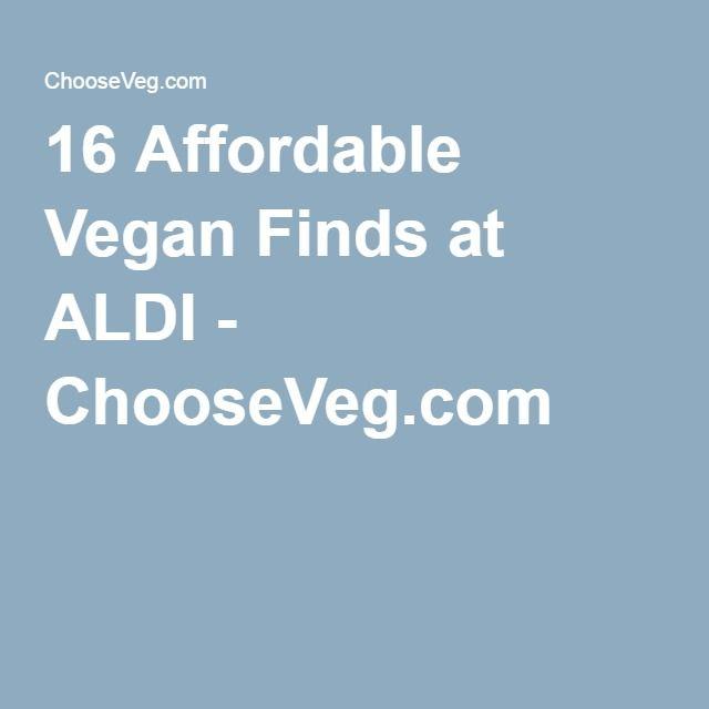 16 Affordable Vegan Finds at ALDI - ChooseVeg.com