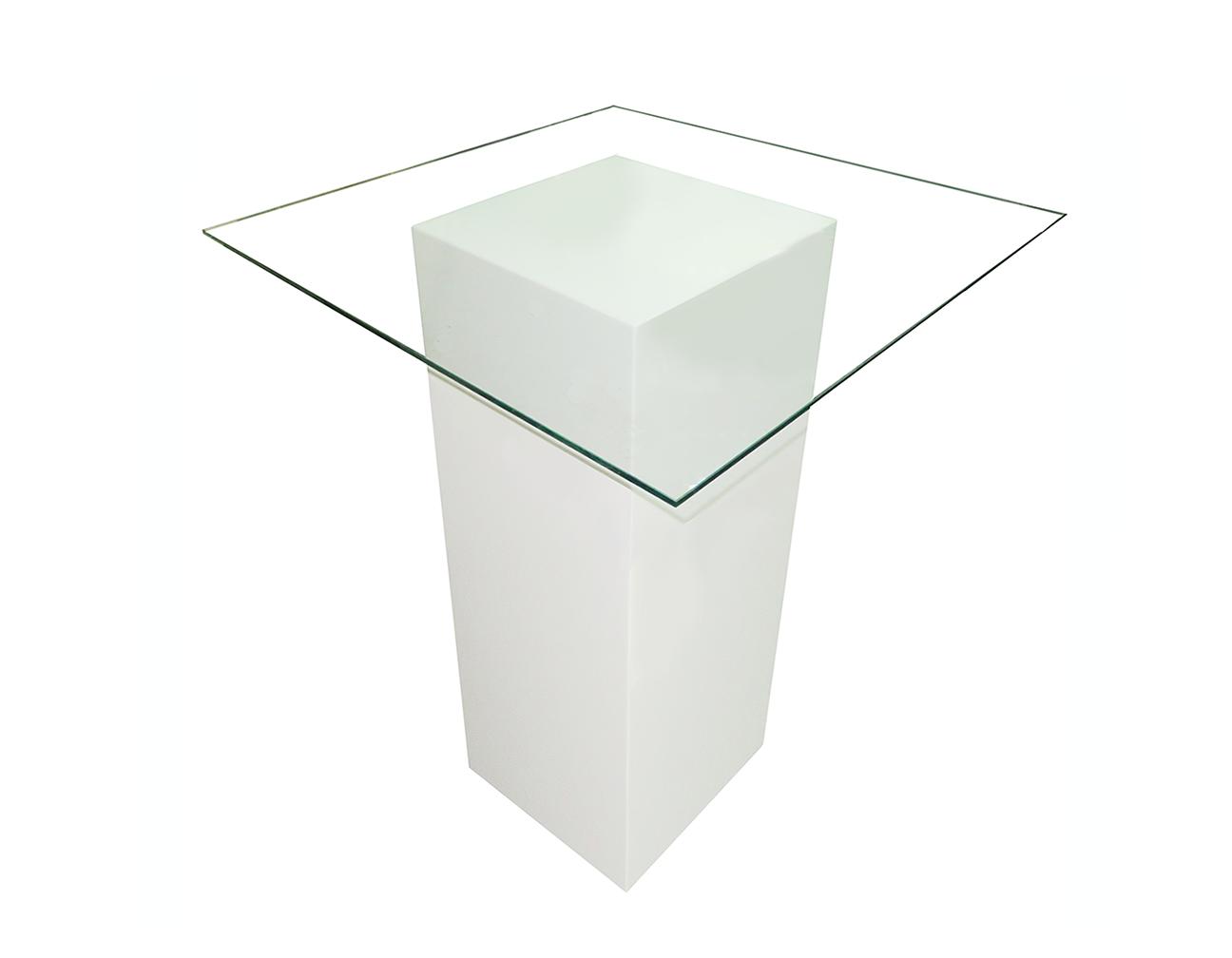 Le Minou Square Glass High Table   High table, Square glass