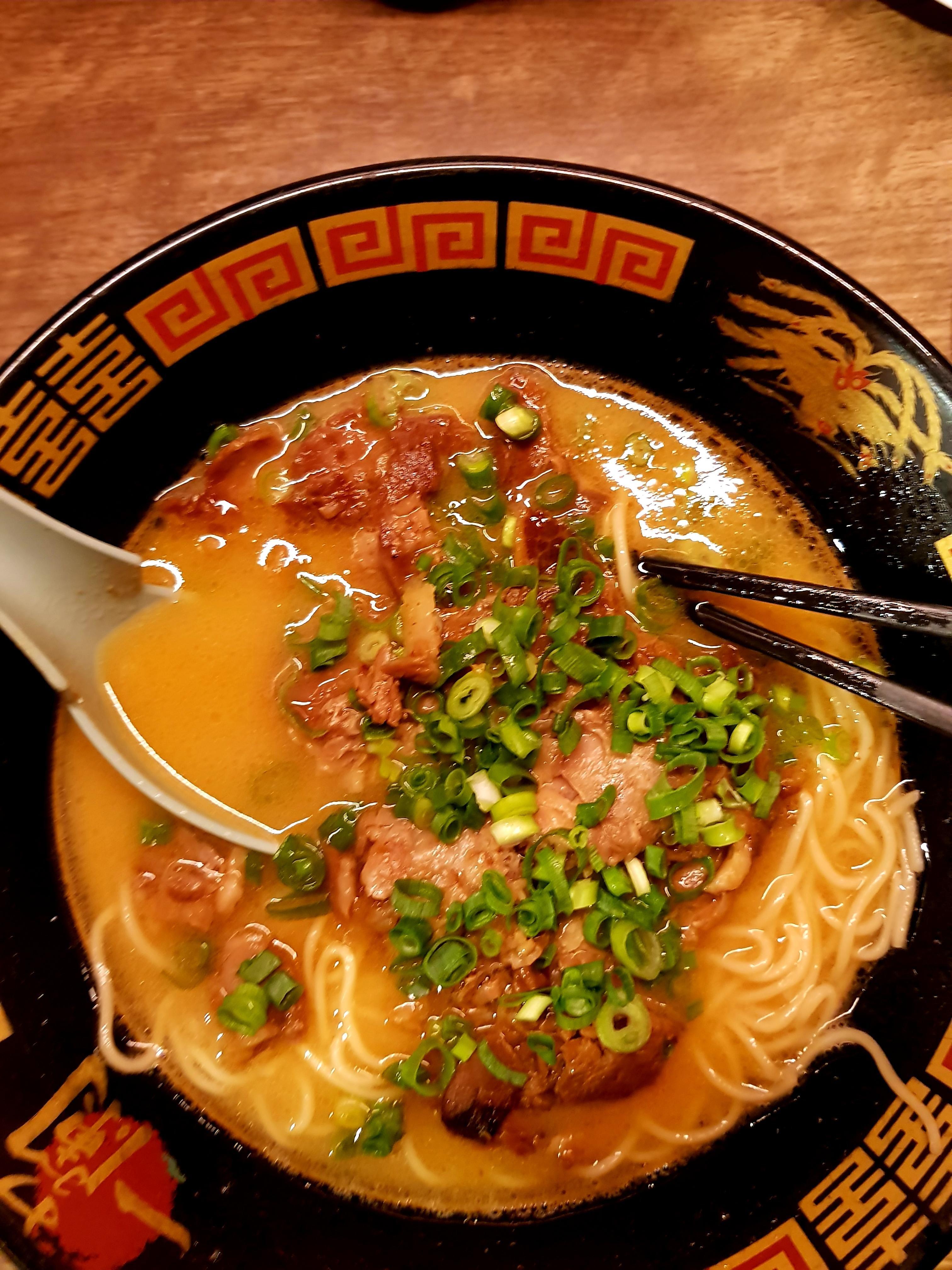 I Ate Ichiran Ramen With Smoke Flavoured Stewed Pork Food