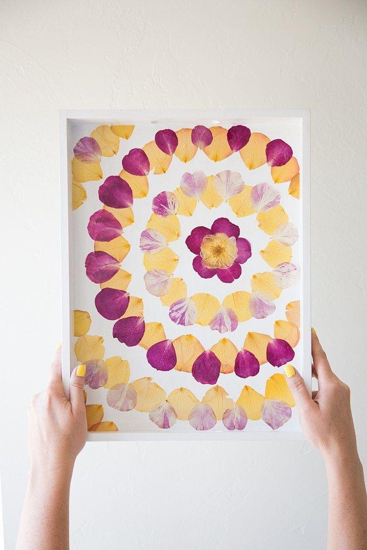 Comment Faire Secher Une Rose Fraiche fleurs séchées diy : 9 idées - blog déco | presser de fleurs