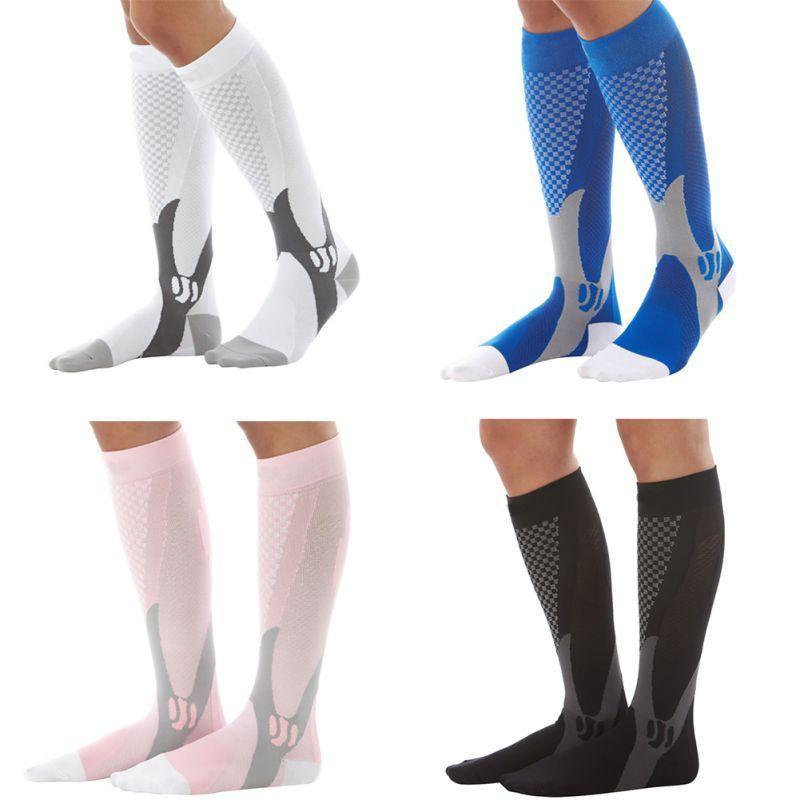 94c3071d5d9 £0.99 GBP - Men Women Compression Long Socks Pain Relief Calf Leg Foot  Support Stocking Hot  ebay  Fashion