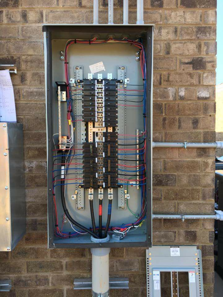 Electrical distribution board attached | Electrical Technology in 2019 | Électricité, Maison