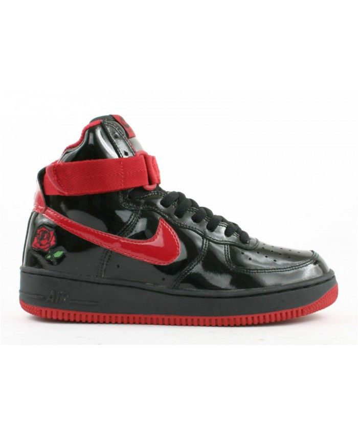Air Force 1 High Rose Black, Varsity Red 624038-061 | air ...