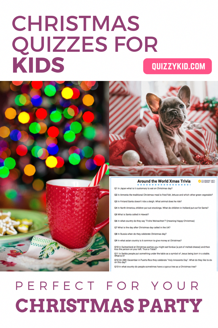 Christmas quizzes, trivia and fun for kids! Check out our