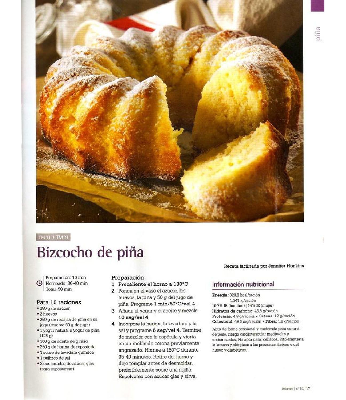 Revista thermomix nº52 cocina diaria, simple y deliciosa por argent ...