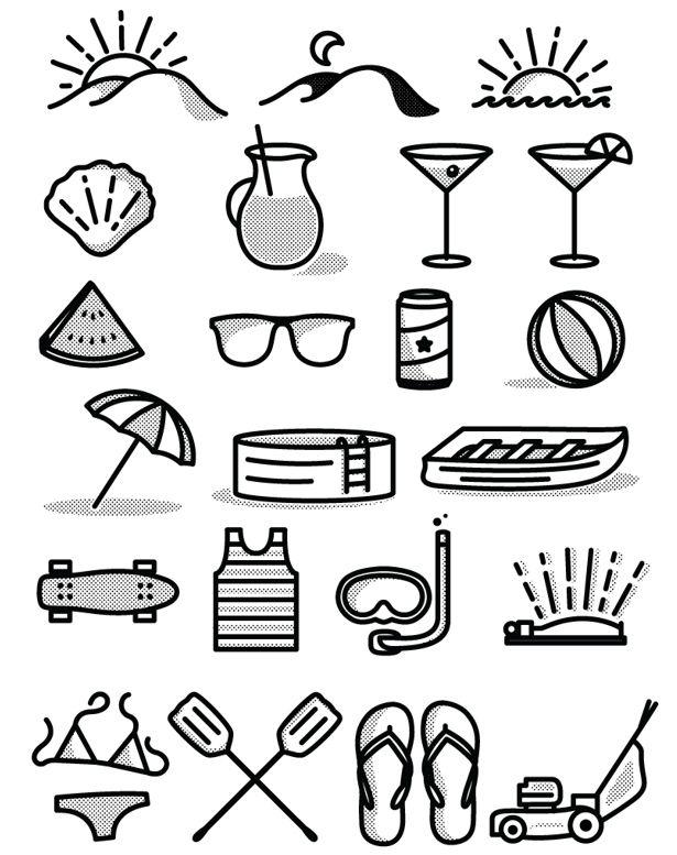 tim praetzel s free summer icon set summer icon free icon set icon set tim praetzel s free summer icon set