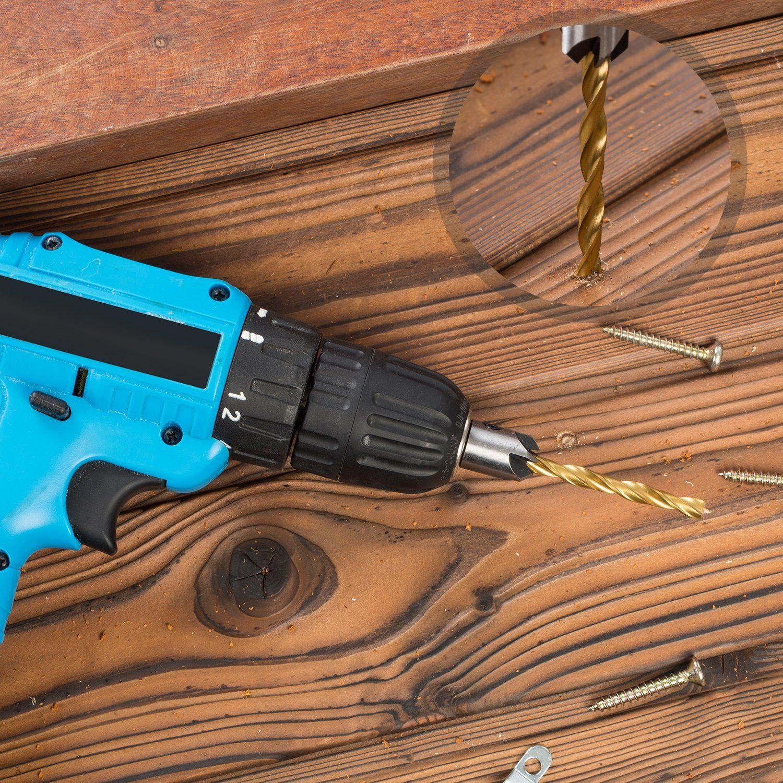Speedbor Irwin 4 Piece Countersink Wood Drill Bit Set