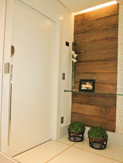 Aparador Alto Branco ~ Hall social Ahga Interiores Hall de entrada Pinterest Salas, Aparador e Decoraç u00e3o casa