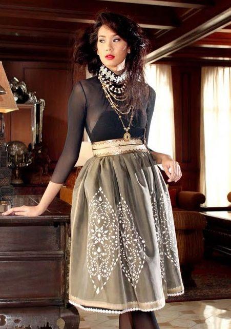 Women's Barong Tagalog models | filipino fashion | Tumblr ...