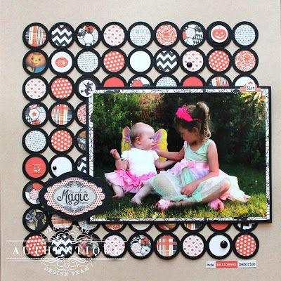 Layout by Authentique DT Member Heather Conklin @Sunčica Sikirić Paper