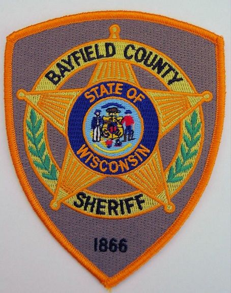 Bayfield County Sheriff Wi Police Patches Badge Sheriff Badge