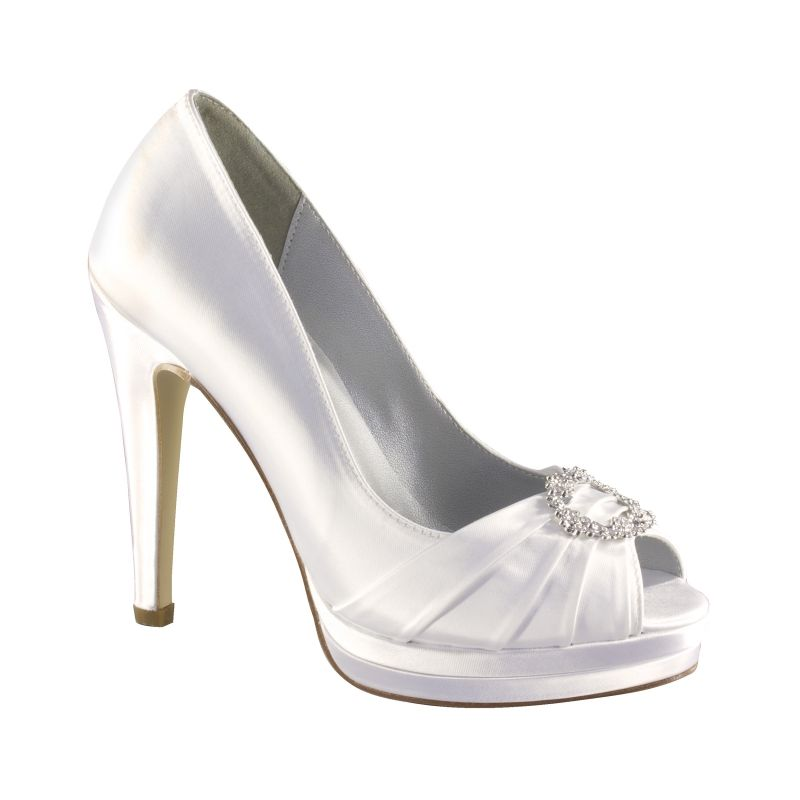 Gianna By Dyeables In Bridal Shoes Sandals Open Toe Bridal Shoes High Heel Open Toe Dyeable Wedding Shoes Dyeable Shoes Wedding Shoe