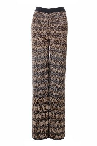 new product 973ec b1908 Pantaloni palazzo fantasia in lurex | M Missoni ...