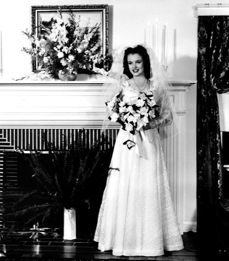 Первая свадьба Мэрилин Монро – фото в хорошем качестве ...