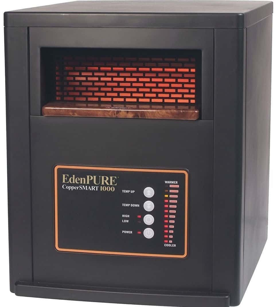 Edenpure Coppersmart 1500 Watt Electric Portable Heater