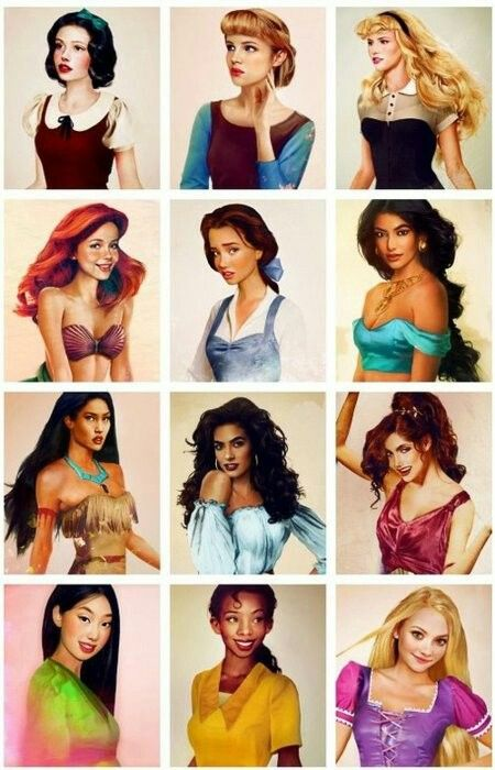 Disney princesses!!